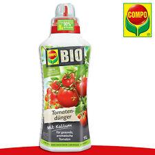 COMPO 1L BIO Tomatendünger | Mit Kalium Celsior Zuckertraube Wachstum Nährstoffe