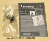 Axis & Allies Miniatures North Africa Greek Officer #4/60 NEW A&A