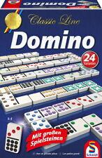 Schmidt Spiele Familienspiel Zuordnungsspiel Domino große Spielfiguren 49207