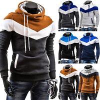 Men's Hoodie Sweatshirt Gym Jacket Hooded Slim Pullover Jumper Top Coat Outwear