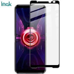 IMAK Full Cover Pro+Tempered Glass Film For ASUS ROG Phone 3 ZS661KS / 3 Strix