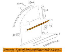 GM OEM Front Door Window Sweep-Belt Molding Weatherstrip Left 23193172