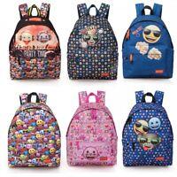 Emoji SMILE ORIGINAL Backpack Rucksack Travel Work School Bag Girls Boys