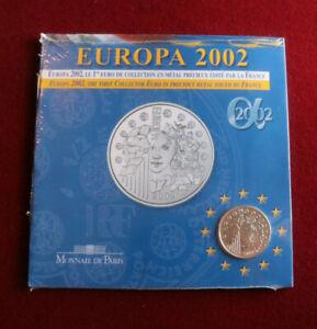 Monnaie de Paris, 2002, Währungsunion, Frankreich, Silber Gedenkmünze