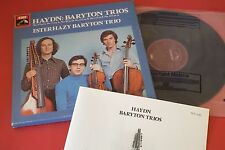SLS 5095 Haydn Baryton Trios Gerardy Erdelyi Williams 2 LP HMV STEREO BOX SET