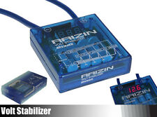 Universal RAIZIN PIVOT MEGA Voltage Stabilizer Regulator Fuel Saver JDM Blue 82%
