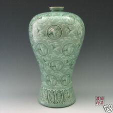 Blumenvase Seladon Porzellan Vase Gefäße Karamik Neu