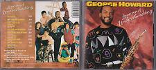 CD 10 TITRES GEORGE HOWARD LOVE AND UNDERSTANDING DE 1991 TBE