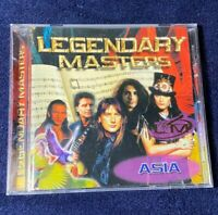 Asia ~ LEGENDARY MASTERS Series~Very Rare UK Release~ LIKE NEW !