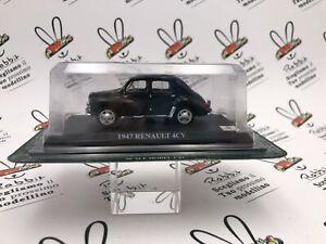 """Die Cast """" 1947 Renault 4CV """" Del Prado Scale 1/43"""