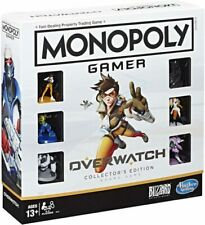 Monopoly Gamer Overwatch Collector's Edition Board Game New Sealed Free Shipping