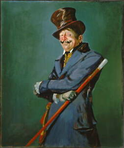 George Luks Otis Skinner as Col Poster Reproduction Giclee Canvas Print