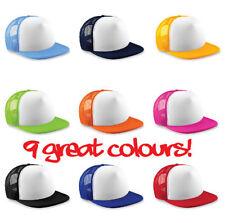 Beechfield Snapback Hip Hop Hats for Men