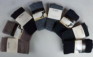 Kunert Femmes Tricot Collants Doux Laine Cotton 60% Laine Vierge Gr. 36-52 Neuf