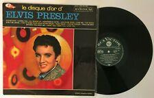 """Elvis Presley """" Le disque d'or """" rare LP Original France Label vert RCA 740.517"""