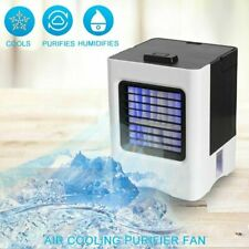 Portable Mini AC Air Conditioner Personal Water Cooling Fans Bedroom Cooler Fan