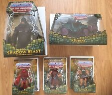 MOTUC Masters of the Universe Classics Club Eternia All 1st Issue Lot of 5