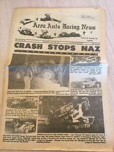 1975 Auto Car Racing Newspaper Nazareth Speedway Silver Spring Freeport Reading