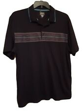 Greg Norman Golf Apparel Play Dry 3-Button Top Polo Shirt Men's XL - D9