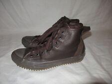 RARE🔥 Converse Chuck Taylor Hollis Hi Pinecone Brown Leather Sz 8 Men's Hikers