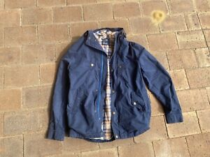 Fred Perry Mountain Parka Navy Mens Jacket Trench Jacket Vintage | RRP $345