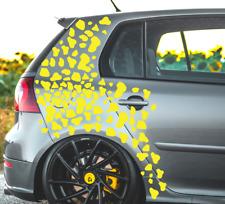 Aufkleber Auto Sticker Kuh Flecken Tuning JDM Decal Scene Car Flecken Tarn Set