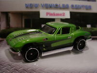 2016 Hot Wheels '63 CHEVY CORVETTE STINGRAY ✿Green☆Multi Pack Exclusive☆LOOSE