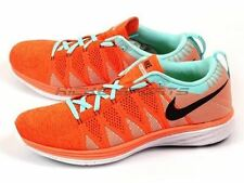 NIKE FLYKNIT LUNAR2.. HYPER CRIMSON/ HYPER TRQ.. MEN'S 9/or WOMEN'S 10.5