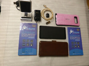 Samsung Galaxy Note 8, 64GB, Excellent, Lots of Accessories, Midnight Black