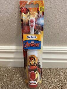 Avengers Red Skull Kid's Toothbrush - Spinbrush - NEW IN PACKAGE