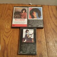 Billy Squier: Lot of 3 Cassette Tapes. Emotions In Motion, Don't Say No, Tale of