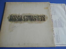 LP UK PROG KING CRIMSON - STARLESS AND BIBLE BLACK - INNER