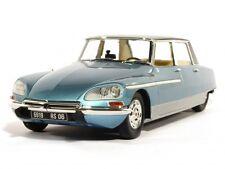 METAL18 - Citroen DS 21 Chapron Lorraine bleu 2 tons - 1969  1/18