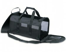Petmate Soft Sided Kennel Cab Large Black 20x11.5x12 Pet Carrier