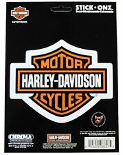 HARLEY DAVIDSON BAR & SHIELD DECAL MADE IN USA CHROMA STICK ONZ MOTORCYCLE