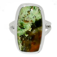 Chrome Chalcedony -  Australia 925 Sterling Silver Jewelry Ring s.7.5 AR171623