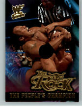 2001 Fleer WWE Wrestlemania People's Champion #14 The Rock