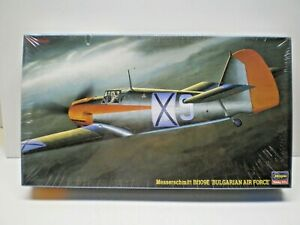 Hasegawa 1/48 Messerschmitt Bf 109E Bulgarian Air Force kit #JT123 SEALED