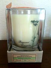 Bath & Body Works Bergamot Coriander Awake Candle Aromatherapy Rare Glass Jar
