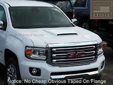 Hood Scoop for GMC Canyon Fits 2015-2020 By MrHoodScoop UNPAINTED HS003