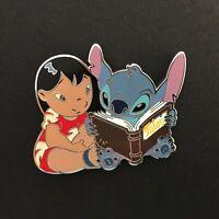 DLP - Lilo and Stitch Reading Disney Pin 132405