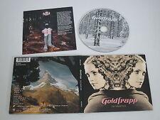 GOLDFRAPP/FELT MOUNTAIN(SILENCIEUX CDSTUMM188) CD ALBUM DIGIPAK