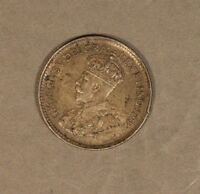 1929 Newfoundland 5 Cents Silver Lightly Circulated   ** FREE U.S. SHIPPING **