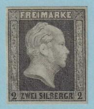 GERMAN STATES - PRUSSIA 4  MINT HINGED OG * NO FAULTS EXTRA FINE!