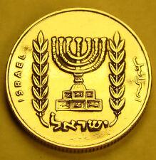 NLM KM#36.1 Half 1/2 Lira Israeli Israel Coin from the Agorah Series Holy Land