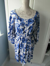 H&M Floral Summer Tunic dress size 12
