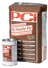 PCI Pavifix PU 2K PUR-Pflasterfugenmörtel für Betonsteinpflaster grau 20,90 kg