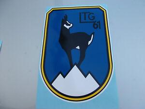 LTG 61 - Aufkleber, neu,mittelgroß , 18,5 cm x 26,5 cm