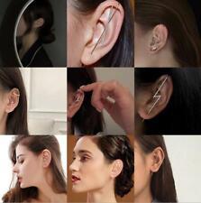 Fashion 1PC Crystal Pearl Ear Cuff Stud Women's Cartilage Helix Earrings