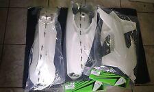 KIT PLASTICHE KTM EXC 125 250 300 2014 2015 2016 KIT 3 PZ COLORE BIANCO